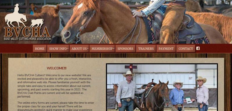 Boise Valley Cutting Horse Association