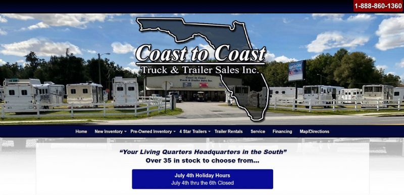 Coast To Coast Trailers