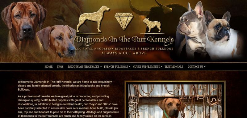 Diamonds In The Ruff Kennels