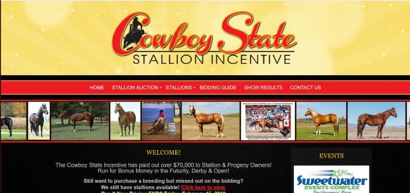 Cowboy State Stallion Incentive