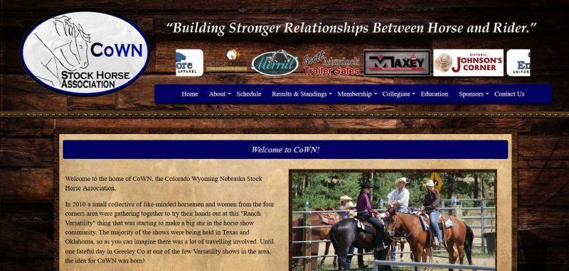 Colorado Wyoming Nebraska Stock Horse Association