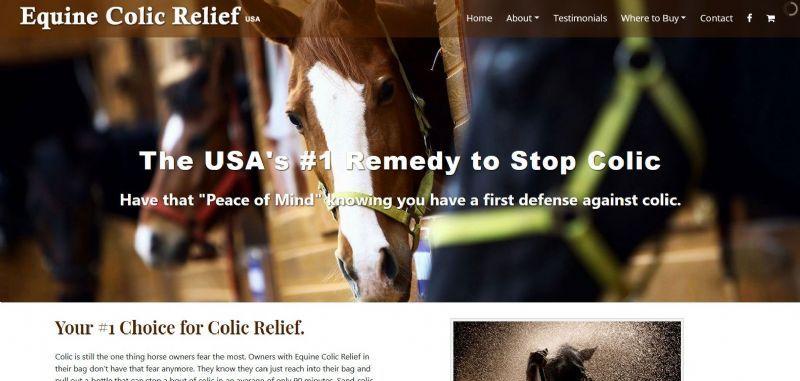Equine Colic Relief USA