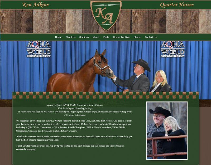 Ken Adkins Quarter Horses