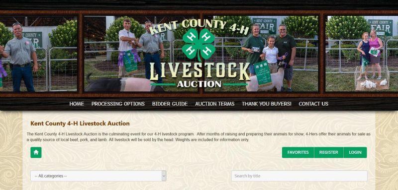 Kent County 4-H Livestock Auction