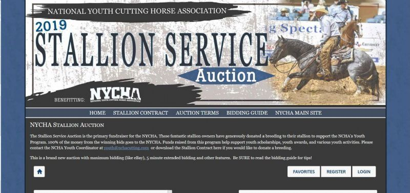 NYCHA Stallion Auction