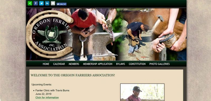 Oregon Farriers Association