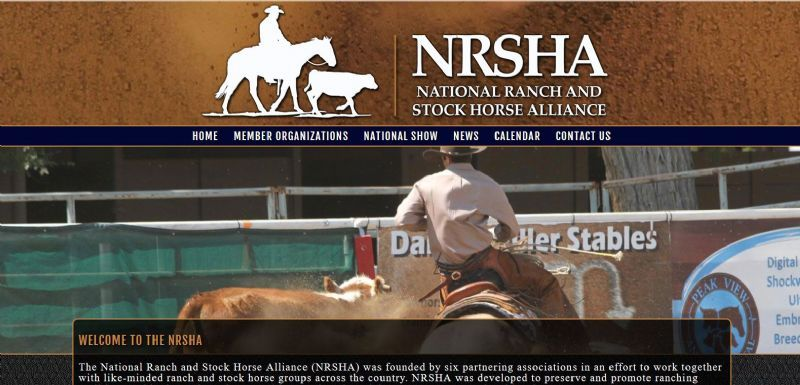 National Ranch and Stock Horse Alliance