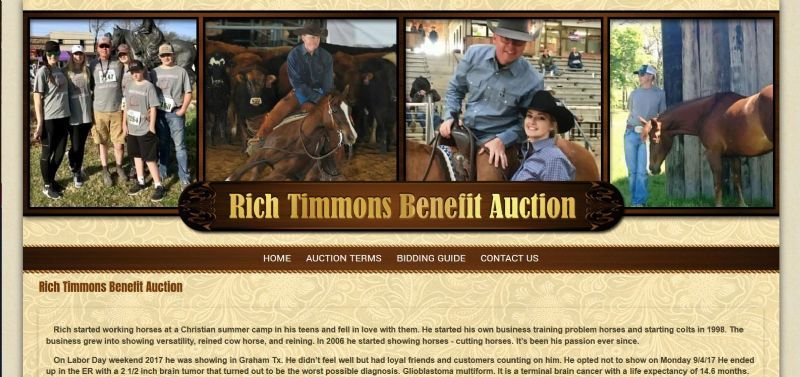 Rich Timmons Benefit Auction